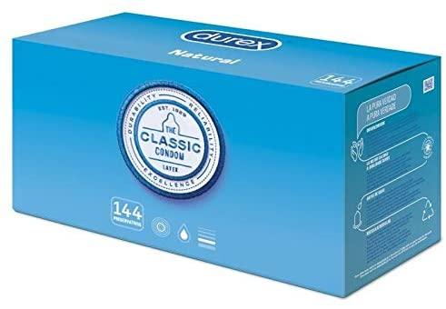 Durex Preservativos Originales - Pack Ahorro 144