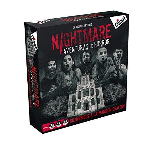 Juego de Mesa Nightmare NUEVO (jugable una vez máximo 5 jugadores)