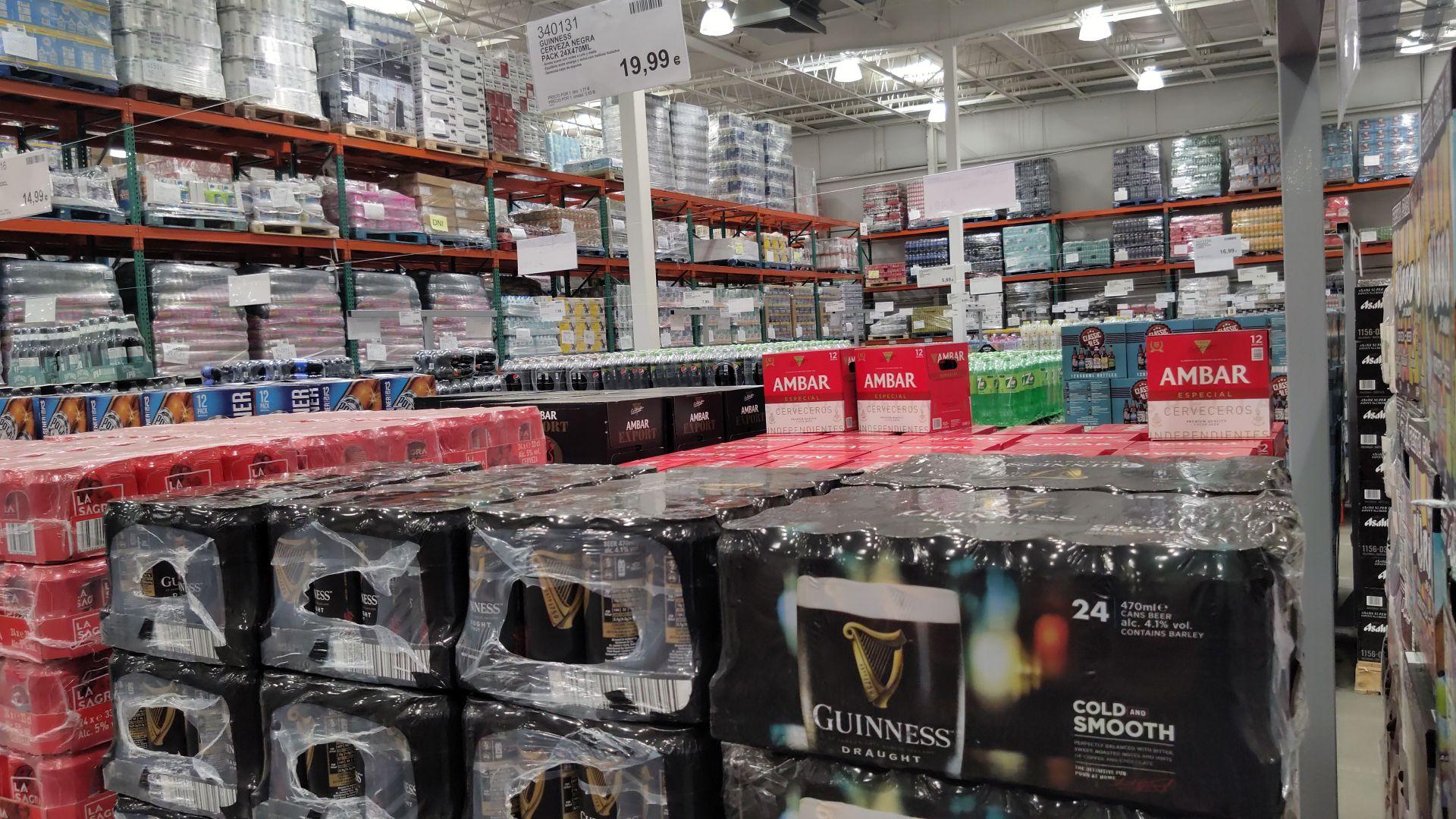 Cerveza Guinness a 0.83 lata, pack de 24