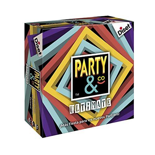 Diset - Party & Co Ultimate Juego de mesa reacondicionado como nuevo