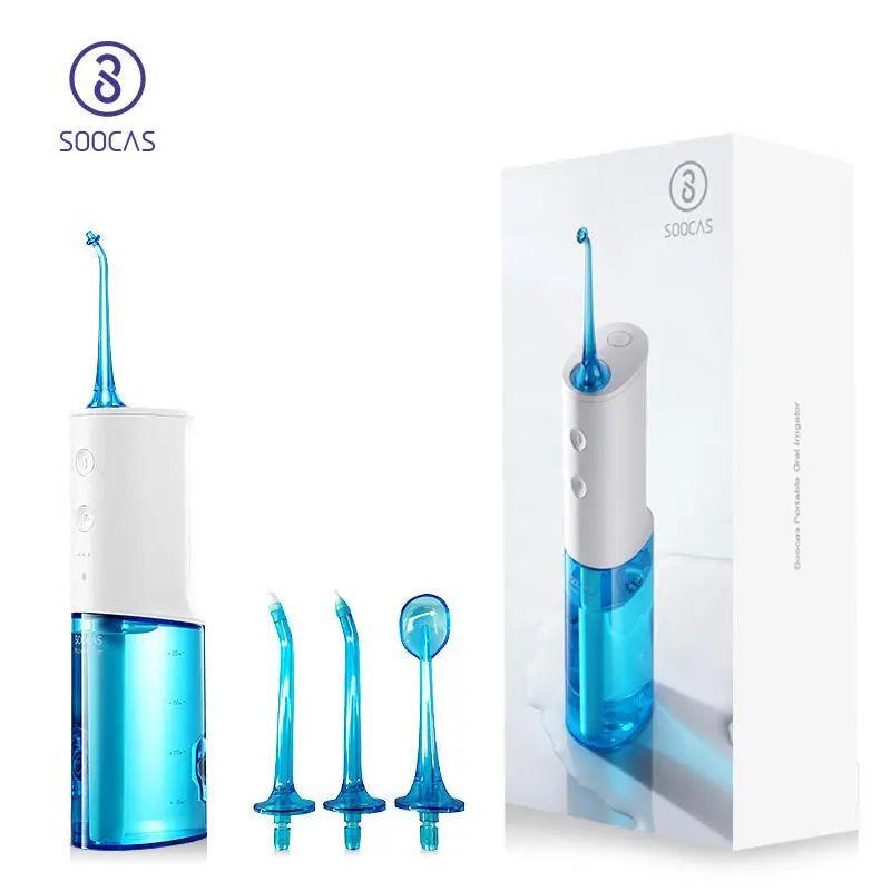 Versión global SOOCAS W3 Irrigador oral eléctrico