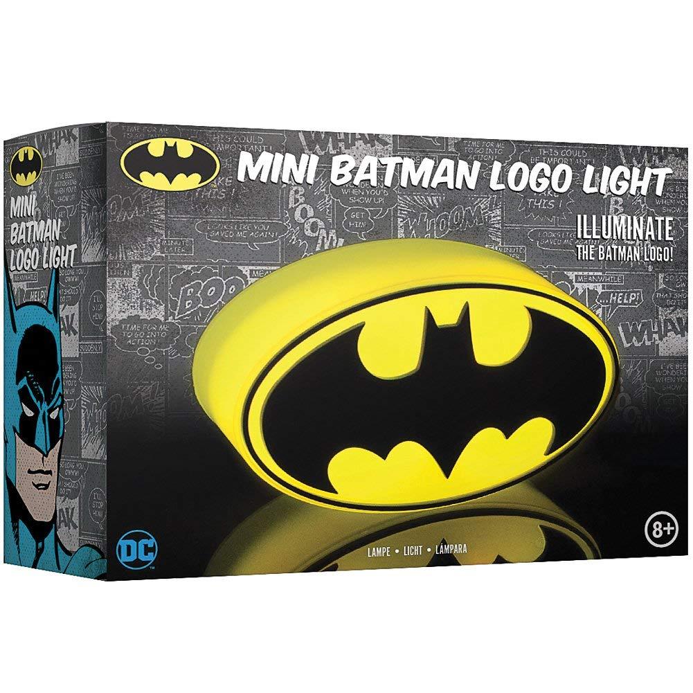 Lámpara Batman para mesita de noche o pared.