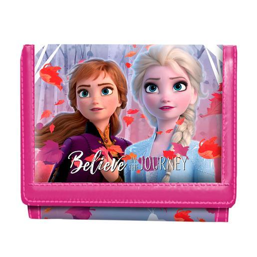 Frozen - Billetero Velcro Elsa y Anna