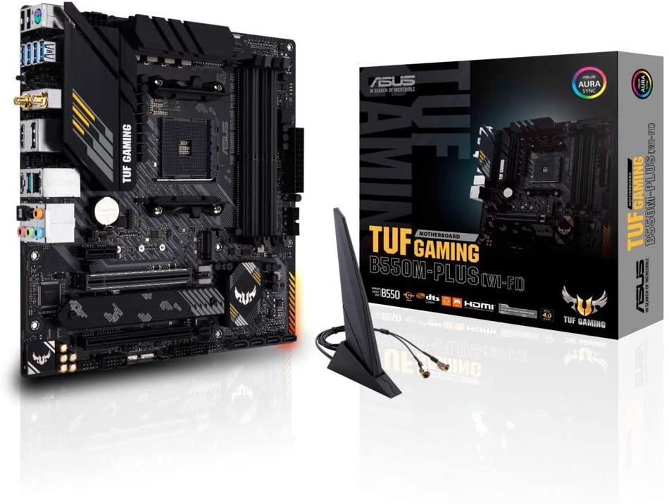 Placa Base Asus TUF Gaming B550M-PLUS (WI-FI) por solo 109.95€