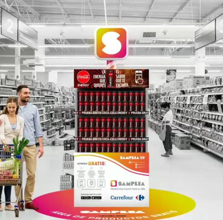 Gratis Coca-Cola Energy (Samplia)
