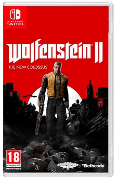 Wolfenstein II The New Colossus solo 15.9€