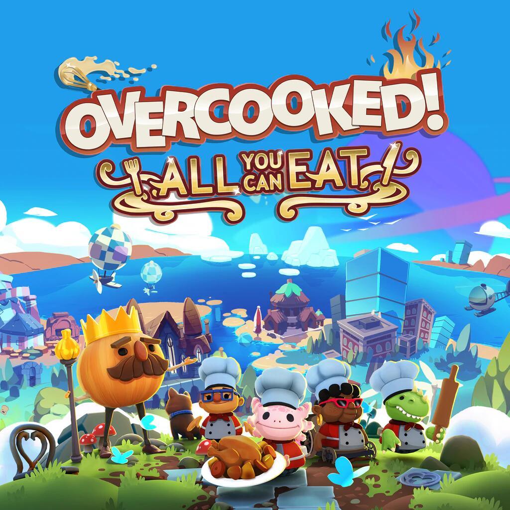 Overcooked 1+2+DLCs [eShop Rusia, leer descripción] - Nintendo Switch