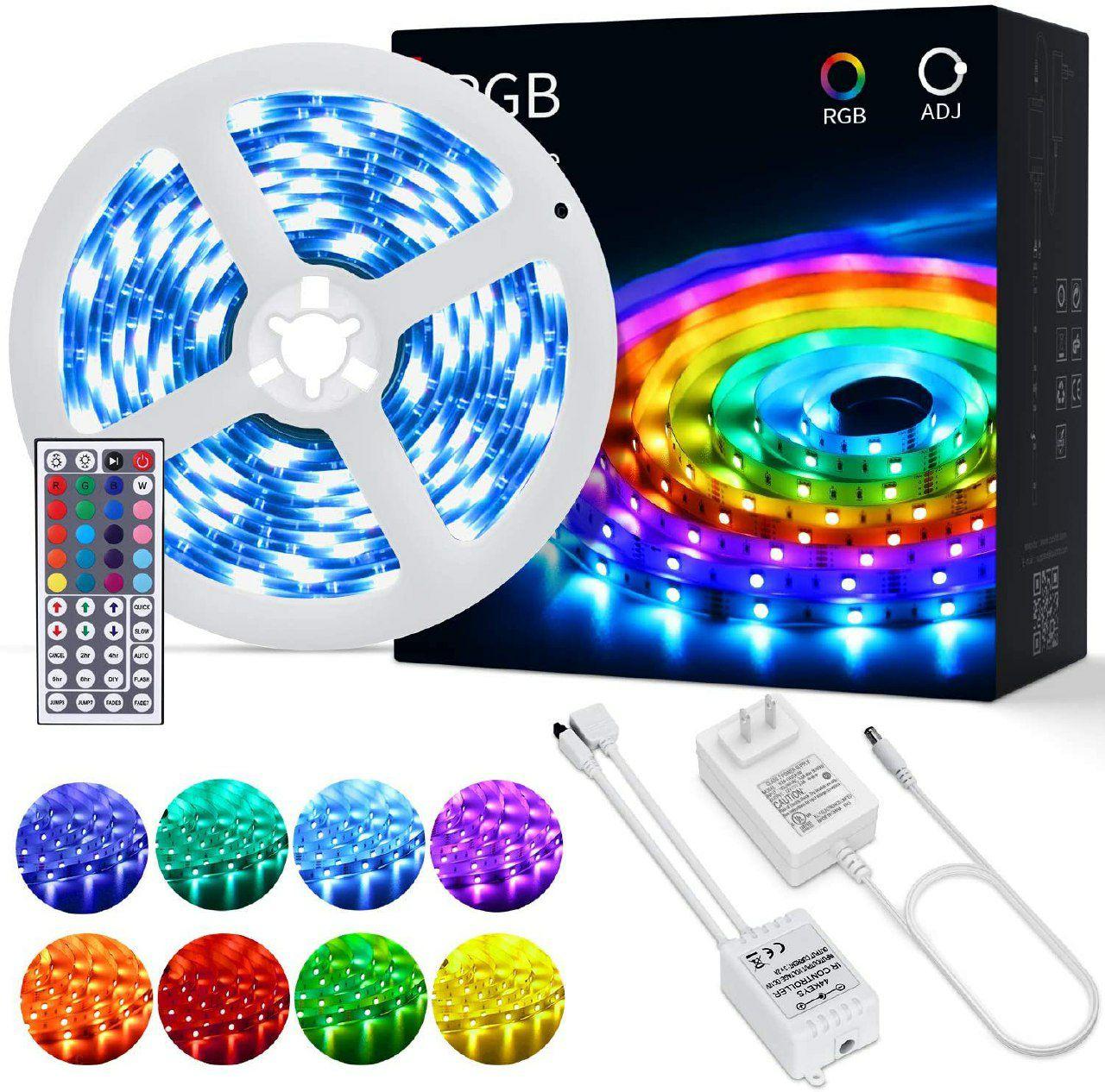 Tiras LED OUSFOT Tira LED RGB 5M 5050