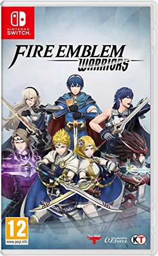 Fire Emblem Warriors Switch (Portada inglesa).