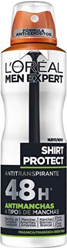 6 unidades desodorante L'Oreal Paris Men Expert Deo Spray Shirt