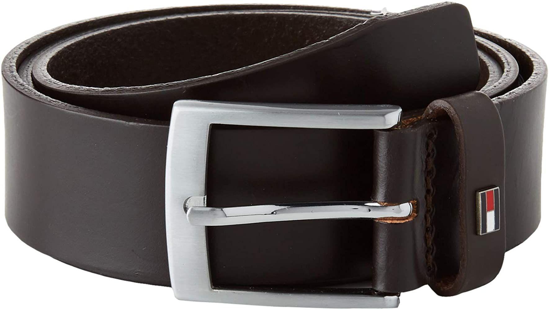 Cinturón de piel Tommy hilfiger T80