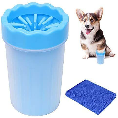 Limpiador de patas de mascotas