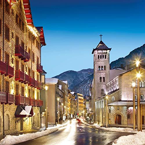 Smartbox, Caja Regalo Amor para Parejas, Magia en Andorra, 1 Noche con Desayuno y Cena o SPA o 2 Noches con Desayuno para 2 Personas
