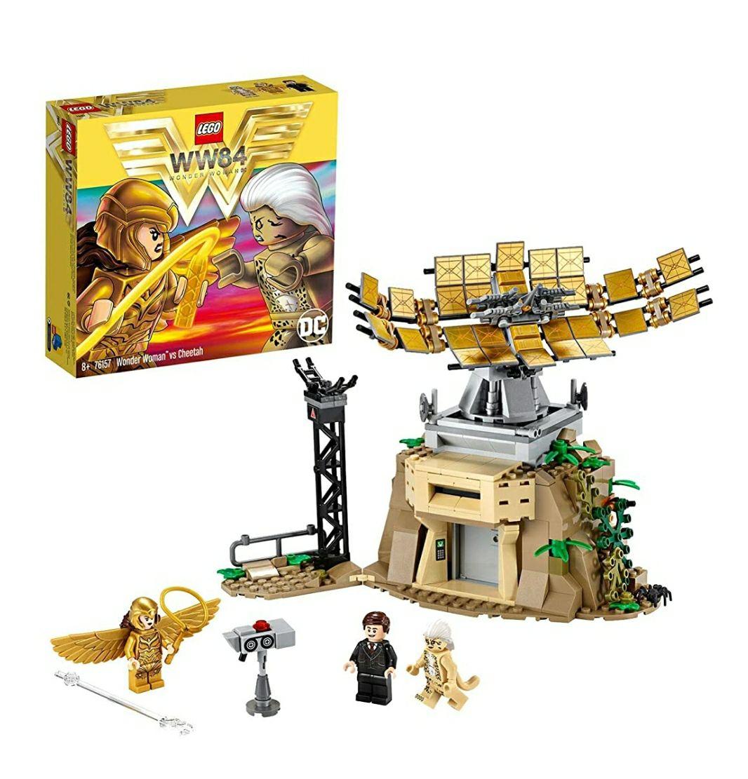 LEGO Súper Heroes DC Comics - Wonder woman vs Cheetah