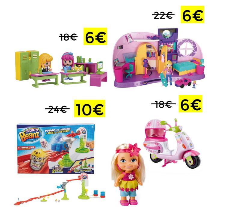 Liquidación en selección juguetes en El Corte Inglés