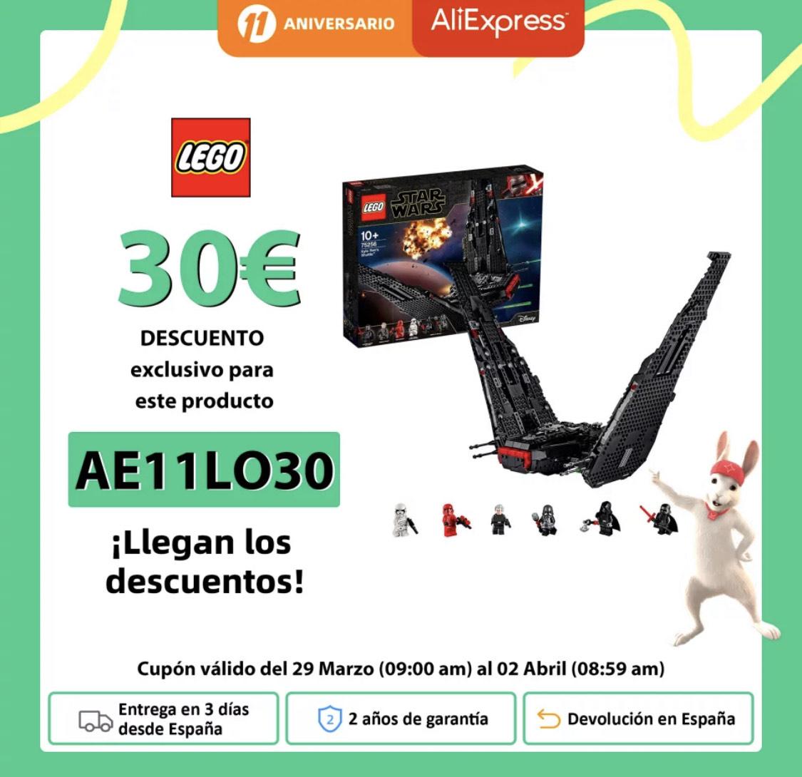 LEGO Star Wars TM | Lanzadera de Kylo Ren desde Plaza España