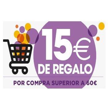 15€ de descuento en Supermercado El Corte Inglés.