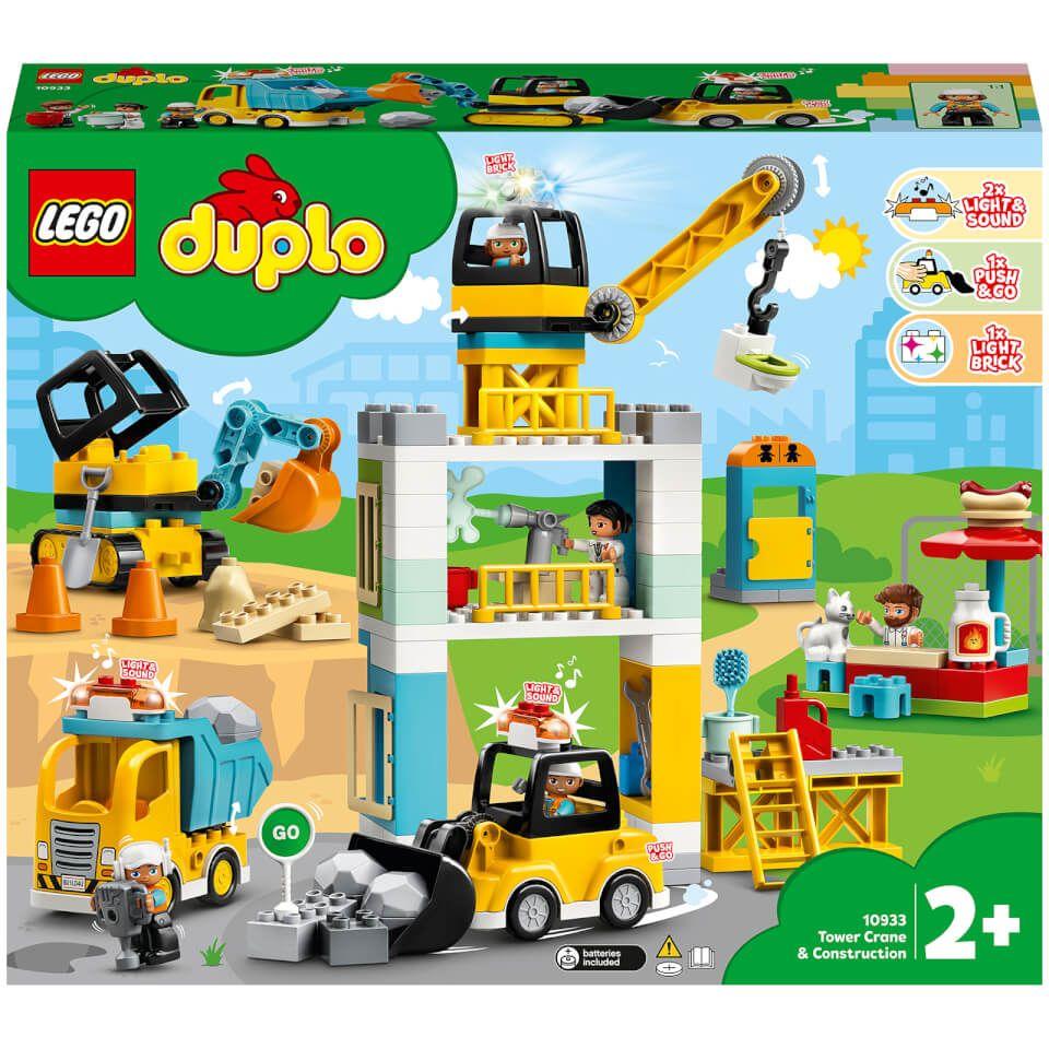 LEGO® DUPLO®: Grúa Torre y Obra