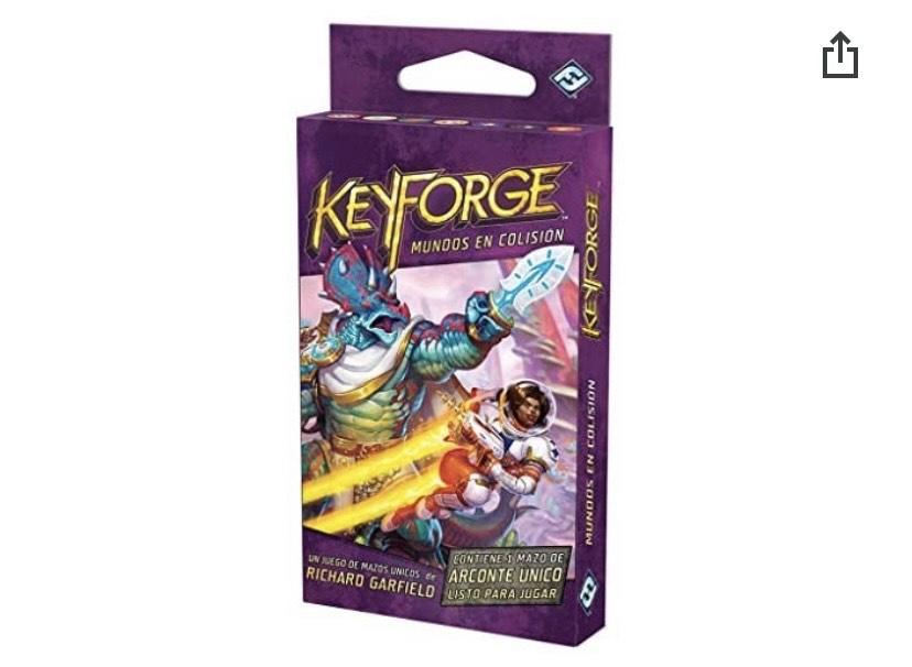 Fantasy Flight Games- Keyforge - Mundos en Colisión Mazo de Arconte