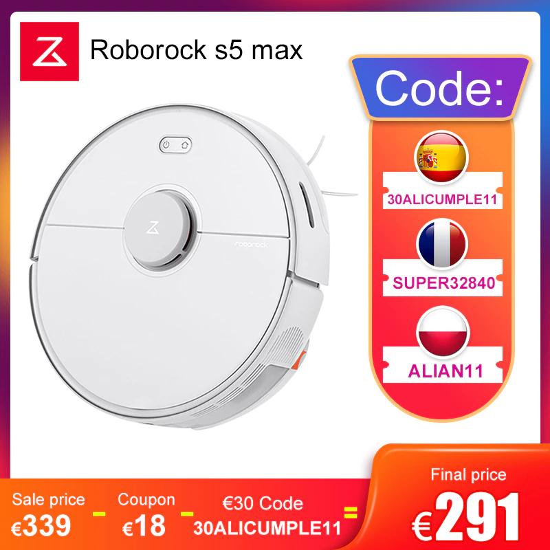 Roborock S5 Max - PLAZA desde España