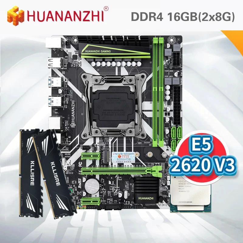 PACK XEON DESDE ESPAÑA (2620 v3 + 16gb de ram ddr4 + huananzi x99)