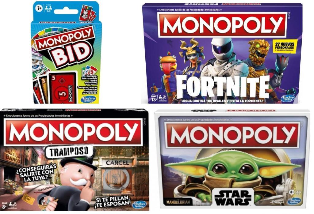 RECOPILACIÓN Monopoly con la 2° Und. - 70% (Ver Descripción)
