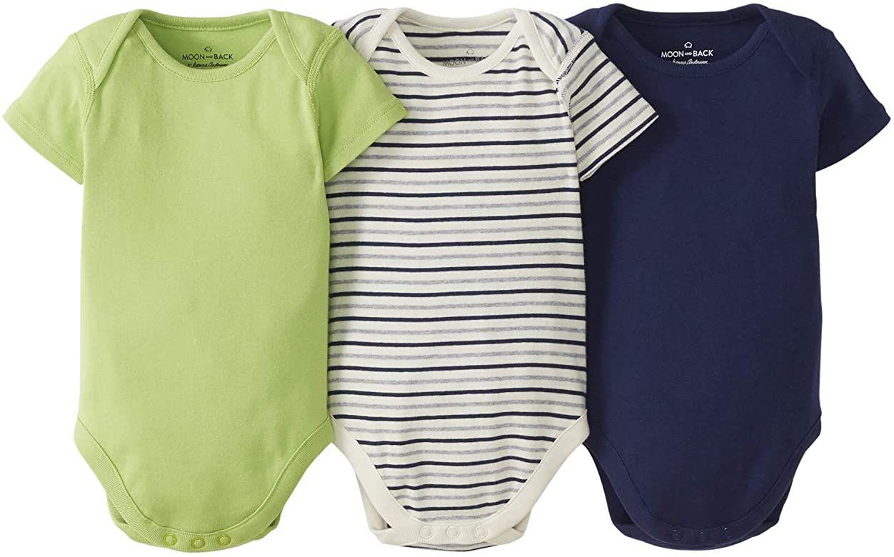 Pack de 3 Bodysuits bebés Unisex (0-3 meses)