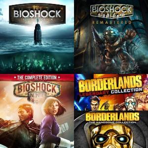 BioShock: The Collection, también Remastered o The Complete Edition, Bordelands [Nintendo Switch, eShop RU-SUD-ES]