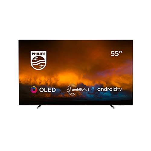 Philips 55OLED804/12 TV OLED 4K UHD, Android 9, Ambilight
