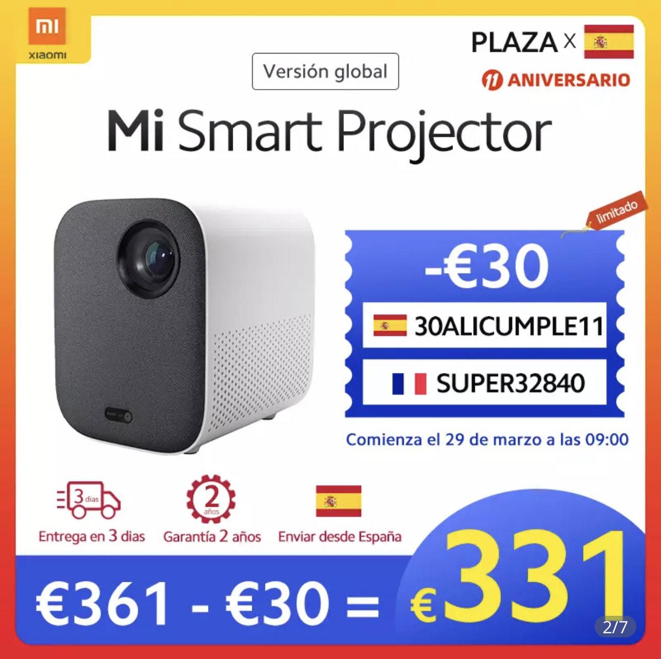 Proyector Mi smart Xiaomi versión global