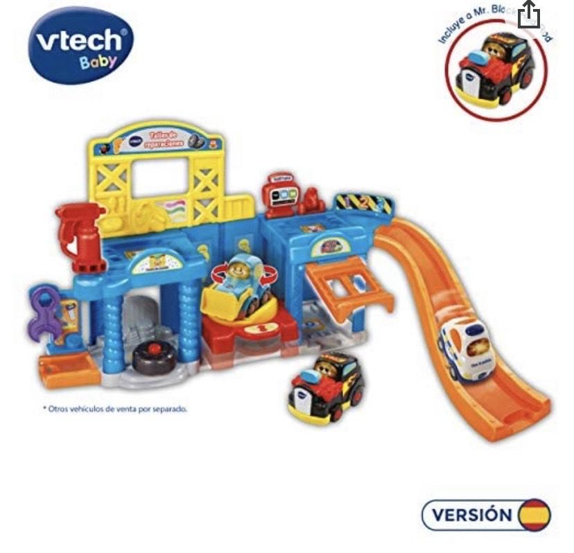VTech- Taller de Reparaciones de Los Tuttut Bólidos