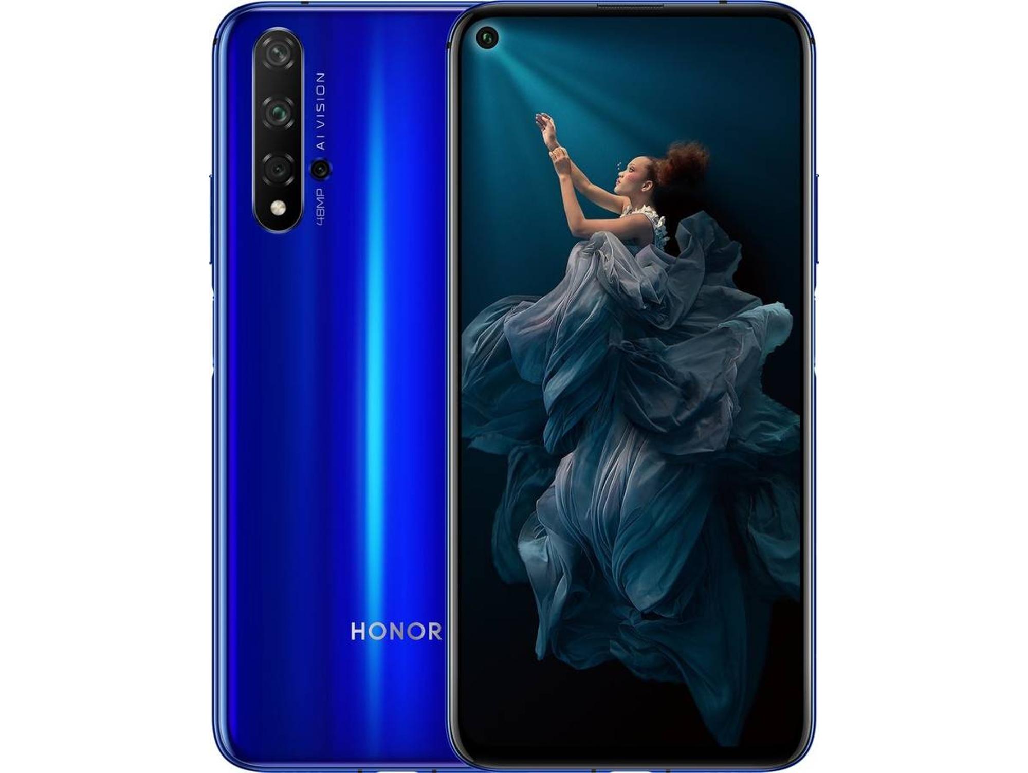 Smartphone HONOR 20 (6.26'' - 6 GB - 128 GB - Azul Zafiro)