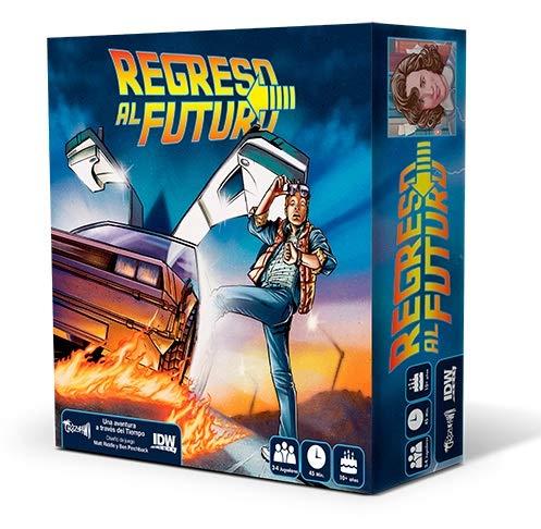 Crazy pawn Juego de Mesa Regreso al Futuro, multicolor, color/modelo surtido