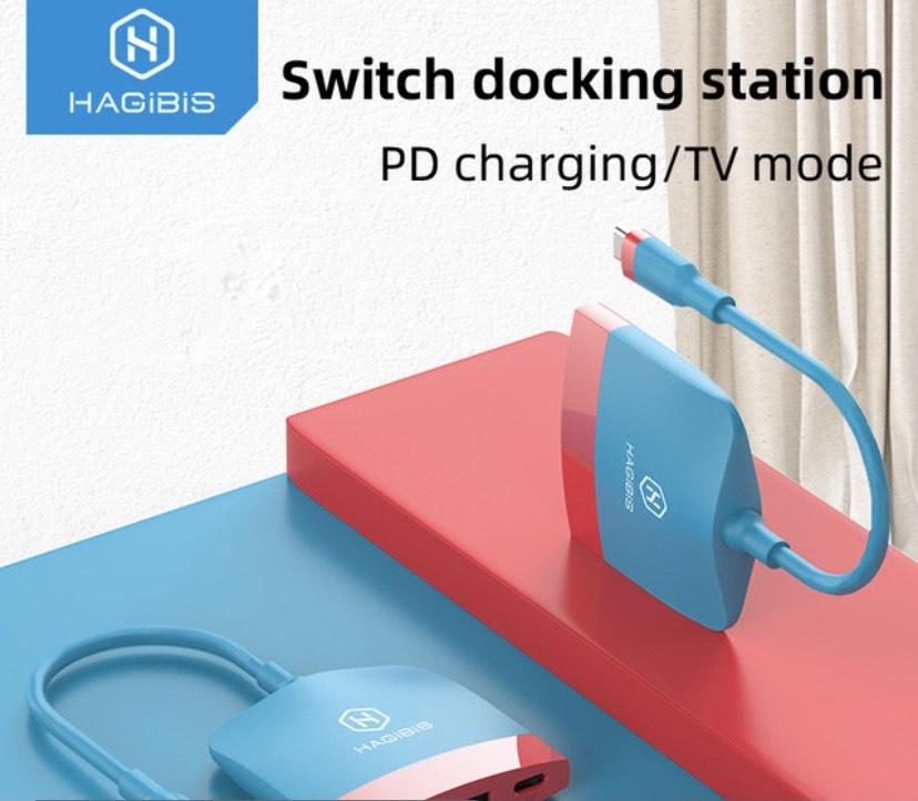 Switch Docking Station 3 en 1 USB-C