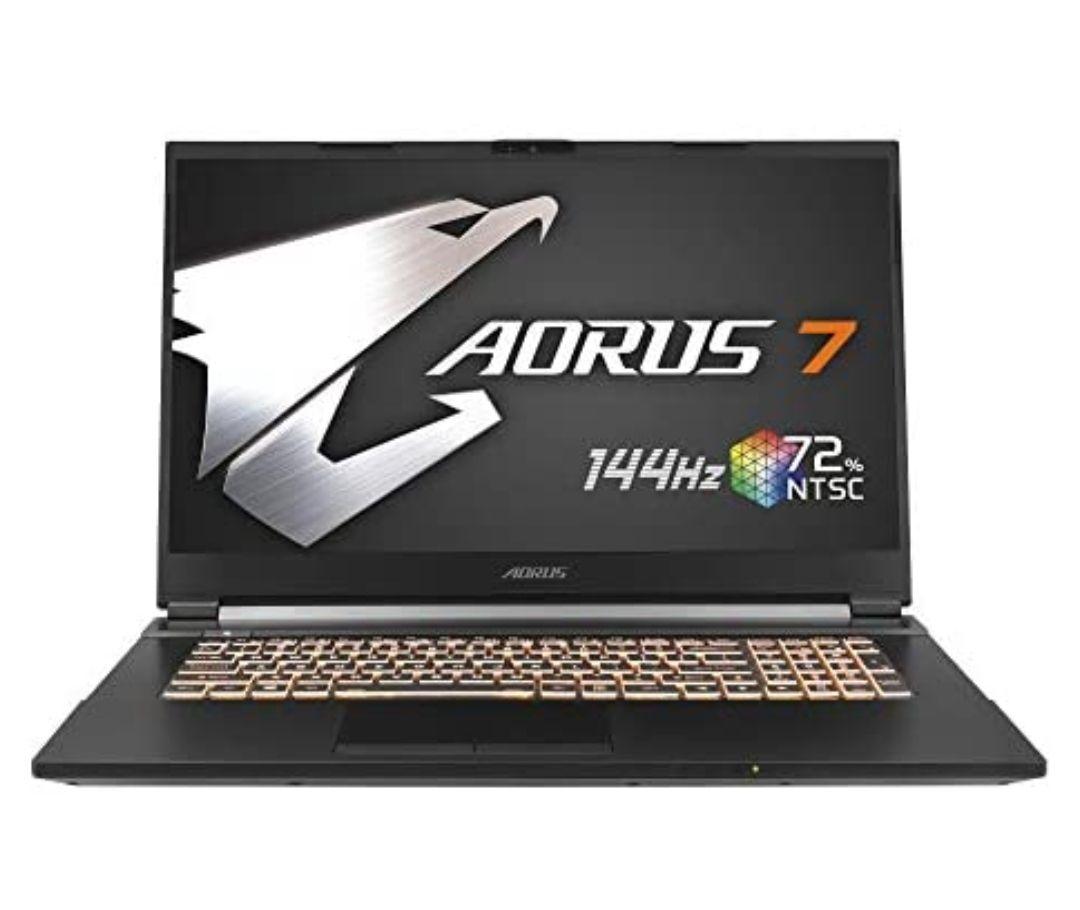 Gigabyte AORUS 7 KB-7ES1130SD - Intel Core i7-10750H, 16GB RAM, 512GB SSD, Nvidia RTX2060-6GB