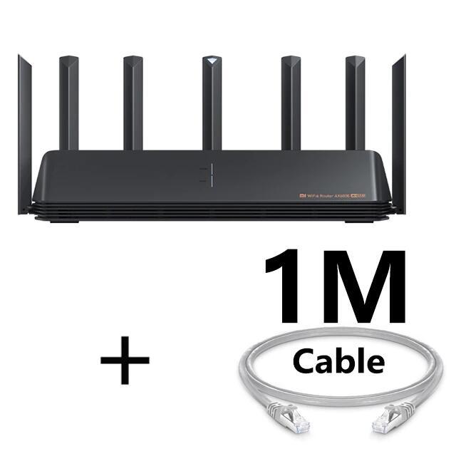 Router xiaomi ax6000 +1 Metro de cable por 93€