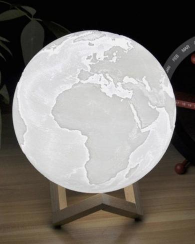 Lámpara Planeta LED de 8CM