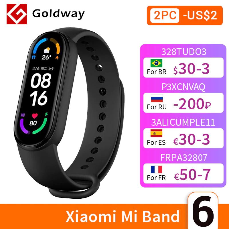 Nueva Xiaomi Mi Band 6