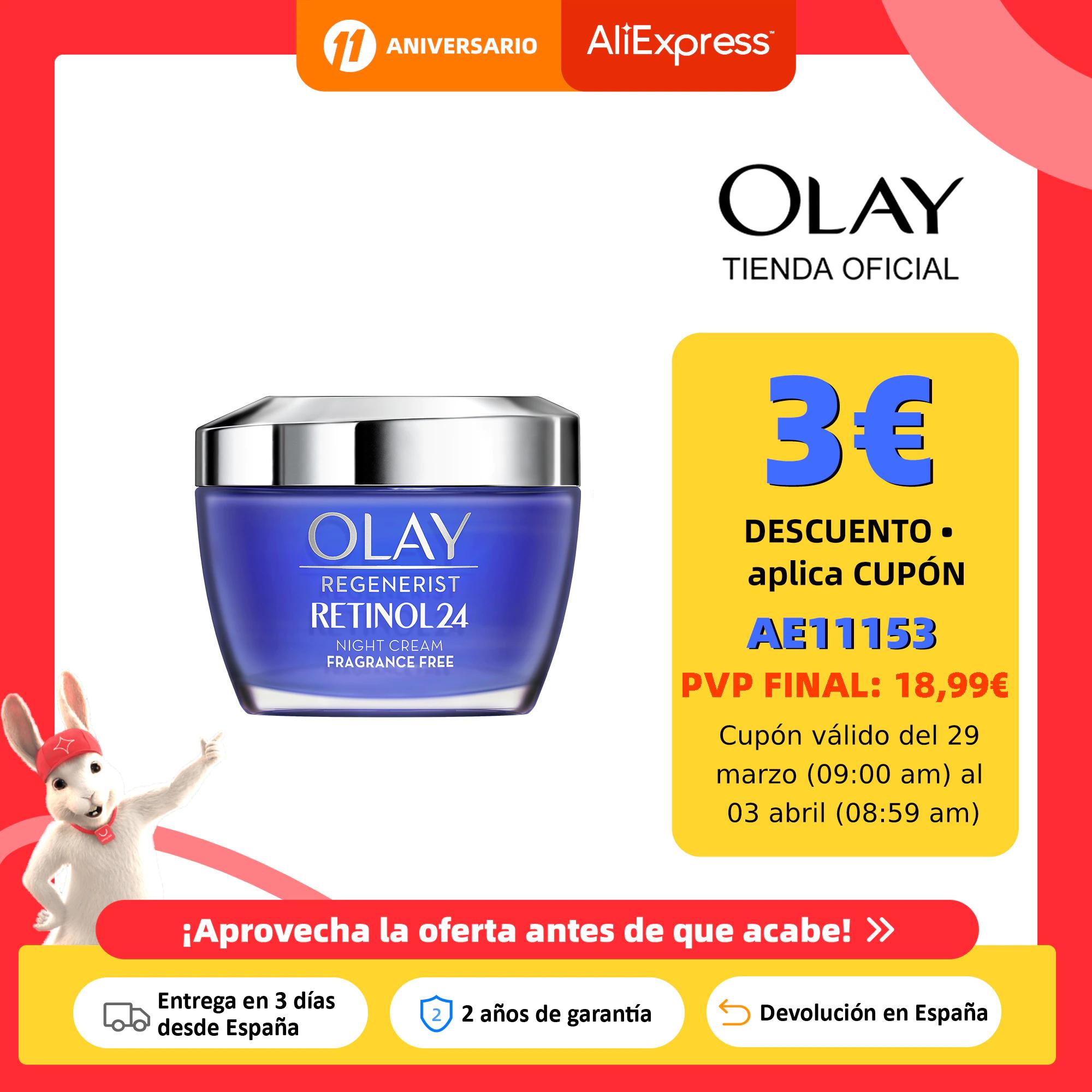 Olay Regenerist Retinol24, Plaza España