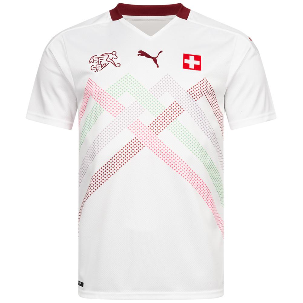 Camiseta de segunda equipación Suiza PUMA