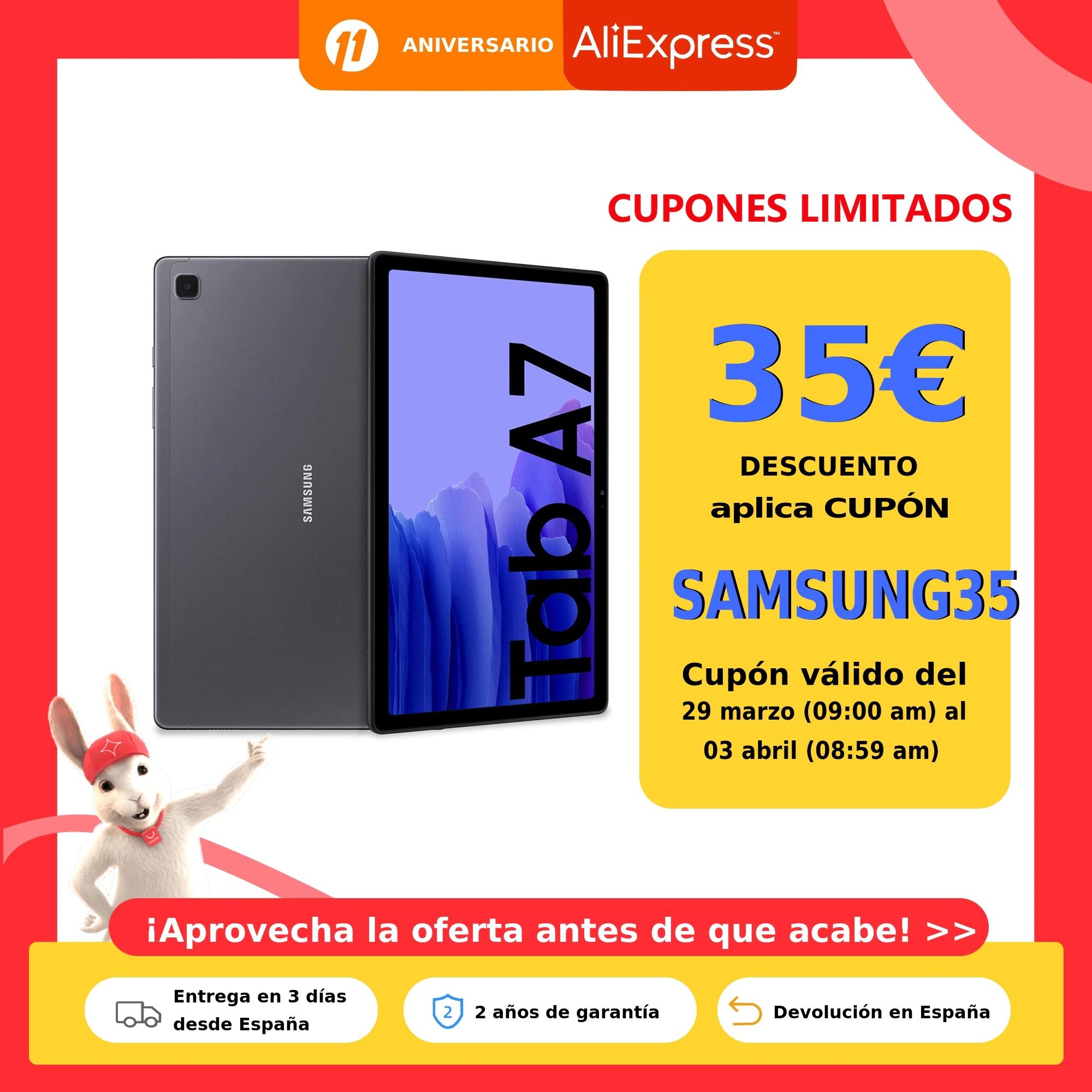 Samsung Galaxy Tab A7 32GB Wifi (Plata)