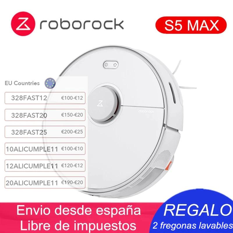Roborock S5 MAX desde España por 263,2€
