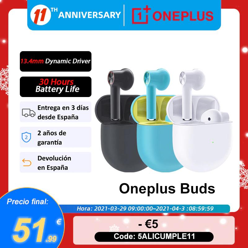 Oneplus Buds Auriculares inalámbricos (Envío desde España)