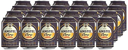Pack 24 latas Amstel Oro