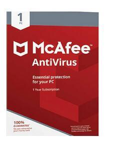 Antivirus 1 año por 2.90€ MCAFEE