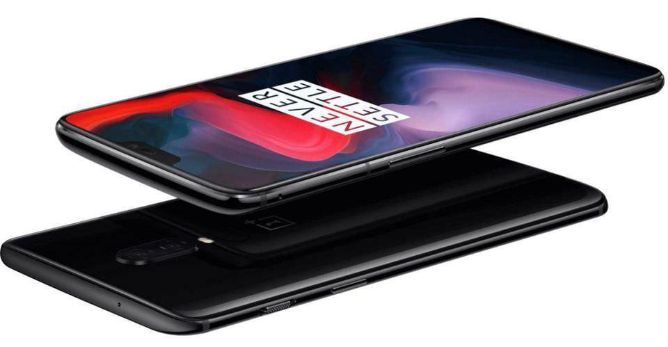 OnePlus 6 RAM 6/8/8 Almacenamiento 64/128/256GB