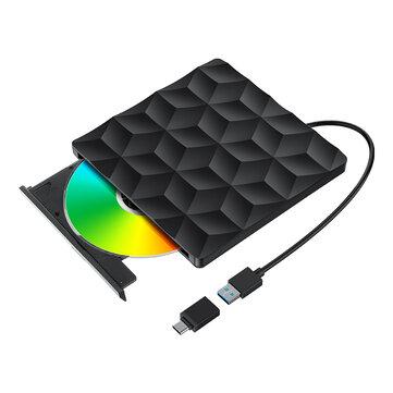 Grabadora/Reproductor DVD externo BlitzWolf®BW-VD1 USB 3.0 Tipo-C