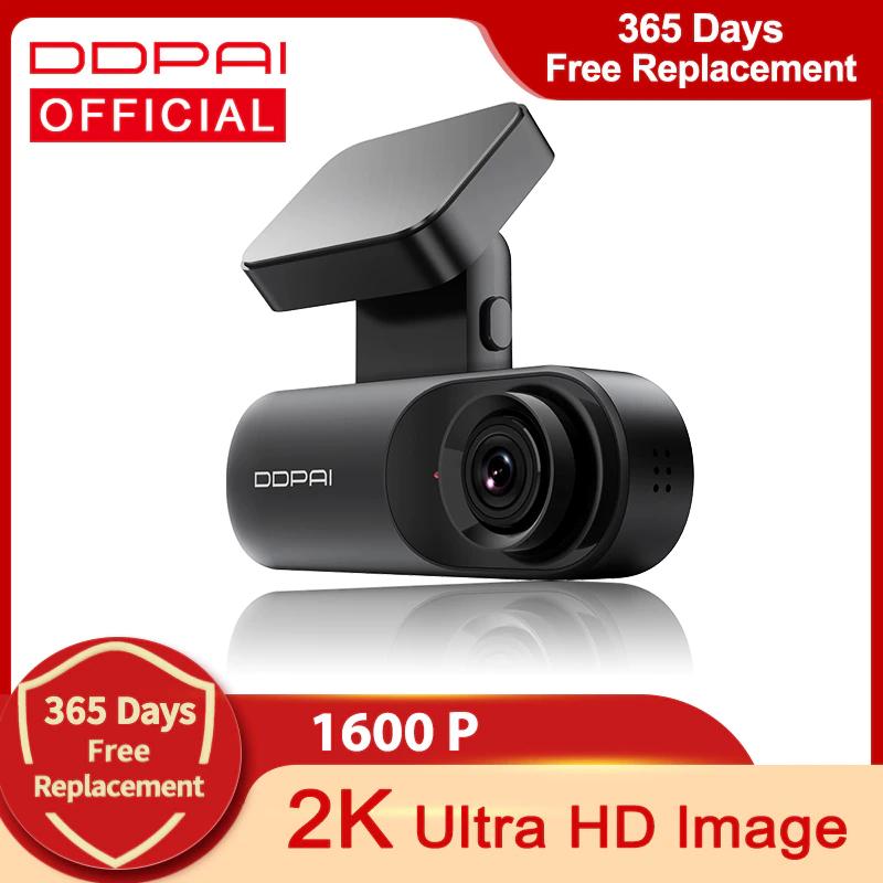 DDPAI-Cámara de salpicadero Mola N3 1600P GPS HD, DVR 2K, Android, Wifi- Desde Europa