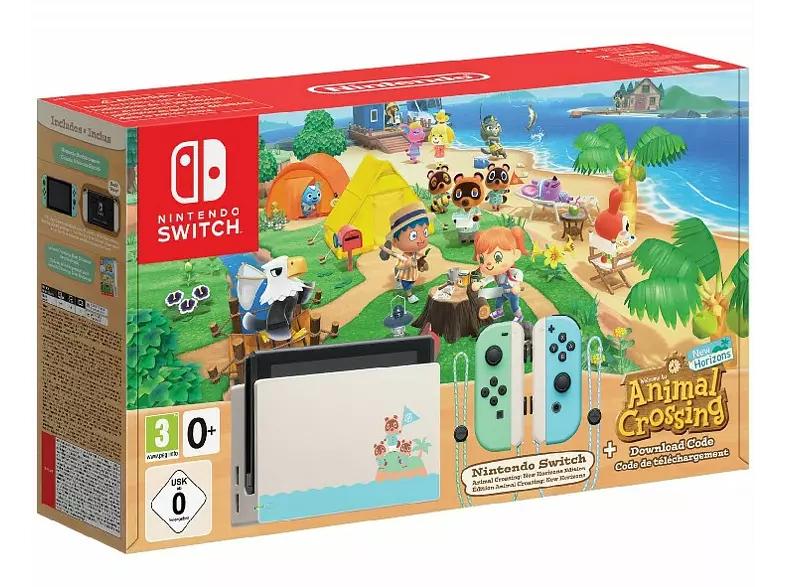 Nintendo Switch Edición Animal Crossing (incluye juego)