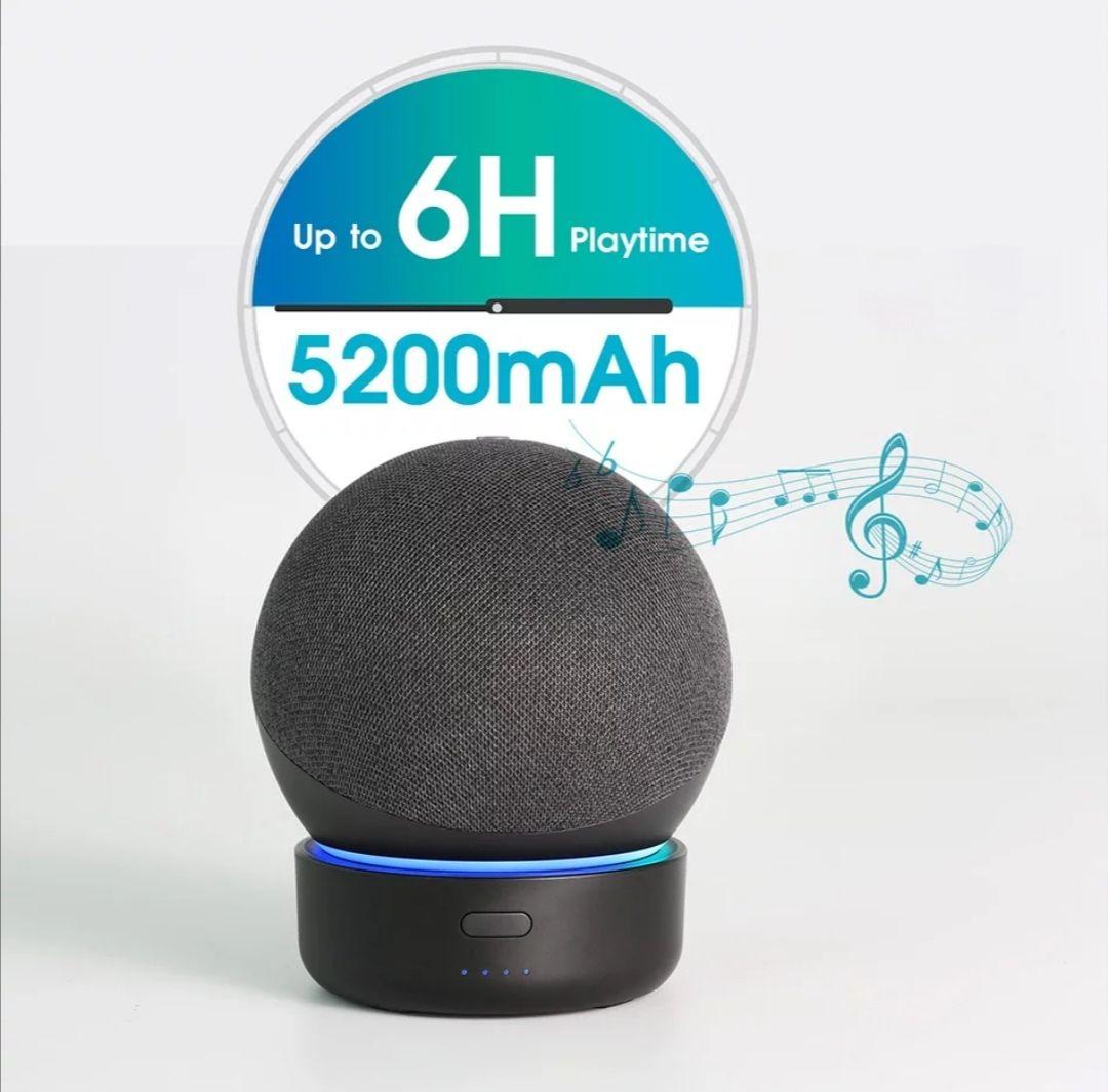 Base altavoz portátil para Amazon Echo Dot 4th Gen